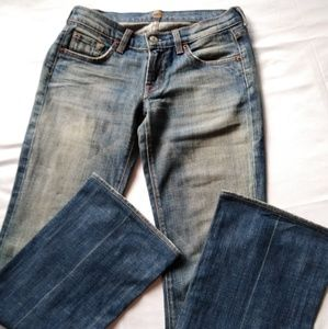 7 for all mankind jeans, size 26.